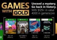Games with Gold im April 2018 enthüllt
