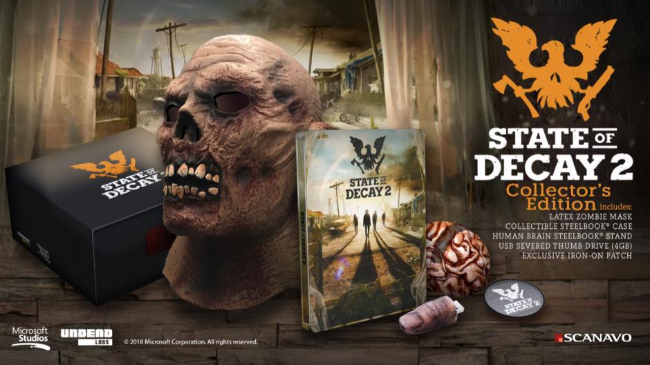 Výsledek obrázku pro state of decay 2 collector edition