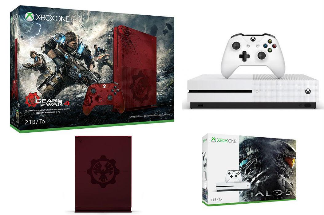 Xbox One Slim –  Halo 5 Bundle & Gears of War Edition geleaked