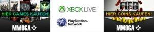 GameCards, PS PLus, Xbox Live & Guthaben