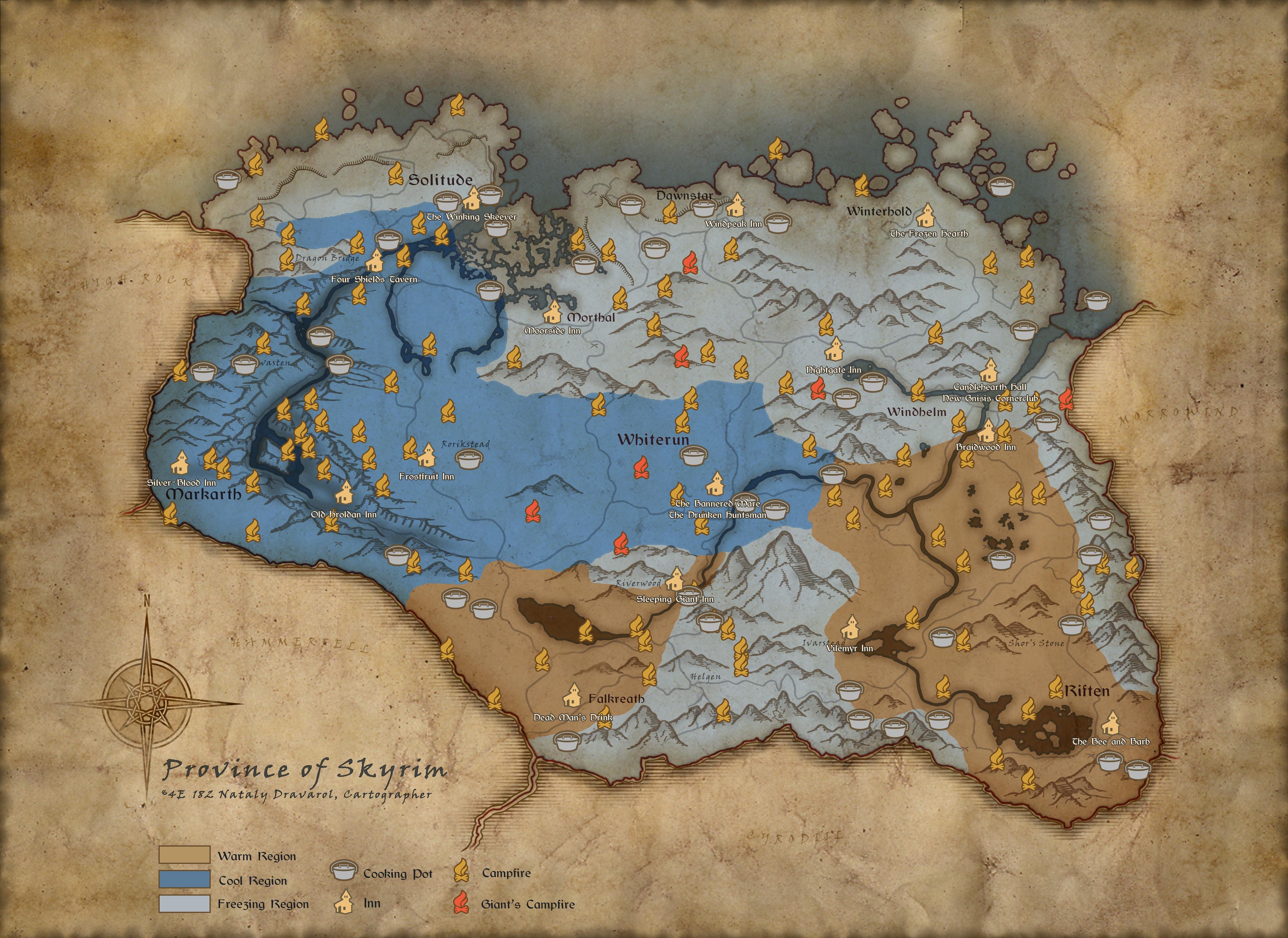 The Elder Scrolls V: Skyrim bekommt Survival Modus & das bietet er
