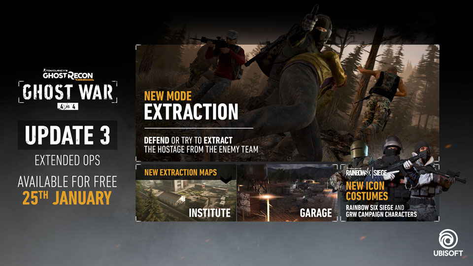 Ghost Recon Wildlands Karte.Ghost Recon Wildlands Extended Ops Pvp Update 3 Patch Notes