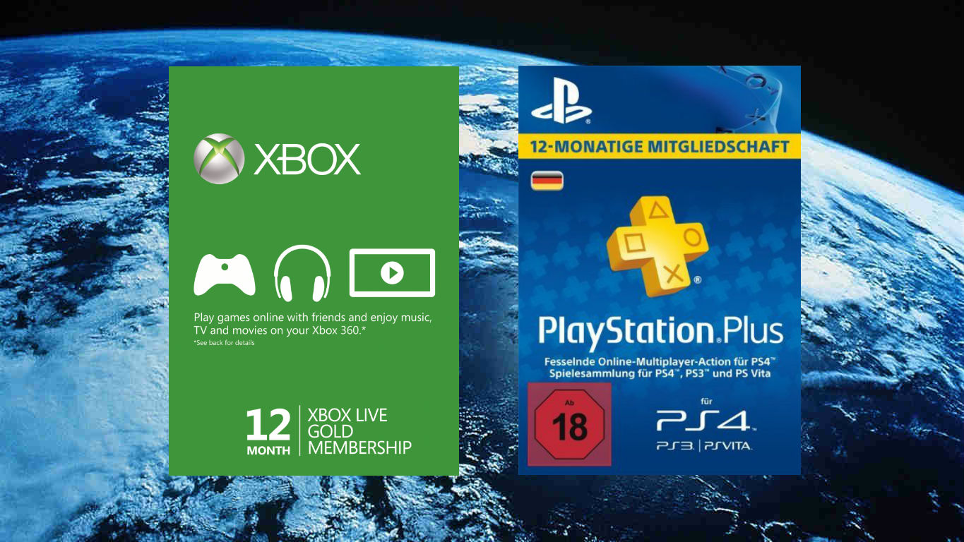 Deal Xbox Live Gold 12 Monate 38 Ps Plus 12 Monate 45 Trippy Leaks