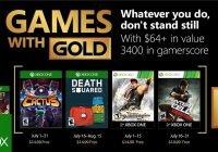 Games with Gold im Juli 2018 enthüllt