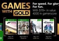 Games with Gold im August 2018 enthüllt