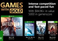 Games with Gold im November 2018 enthüllt